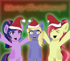Merry Christmas ( A tulpa's greetings) by NihiTheBrony