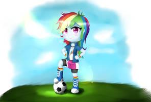 EQG - Chibi Rainbow by NihiTheBrony