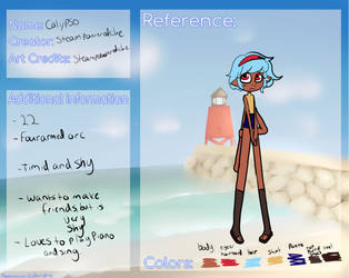 Calypso App- (TheBeautifulX) by Steampoweredche