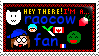 Raocow Fan Stamp by BloodyShadowofDark