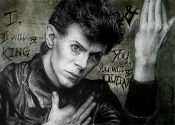 A hero called Bowie by shadowhurts