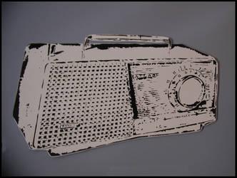 Boombox Old by truemarmalade