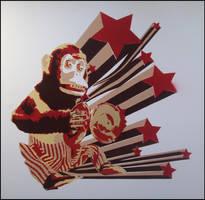 Cymbal Monkey by truemarmalade
