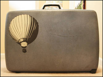 Balloon Suitcase by truemarmalade