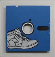 Sneaker Disc by truemarmalade