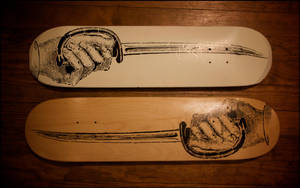 Sword Boards by truemarmalade