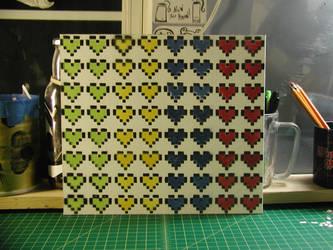 Pixel Hearts by truemarmalade
