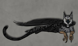 Griffin Gryphon Gryffin by AtropaGrimm