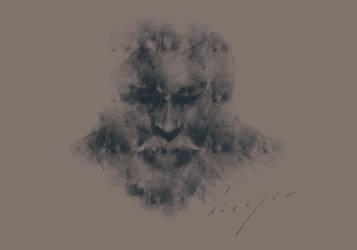 Old Man Brush Test by sonmezay
