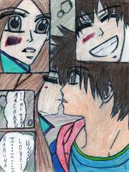 Monkey High Macharu and Haruna by sasusaku14eva