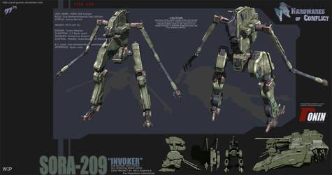 Hardwares of Conflict Invoker by grid-gunner