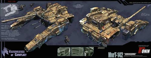 Hardwares of Conflict Jorogumo by grid-gunner