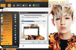 Bangtan Boys - V Windows XP Theme by yuka55202565