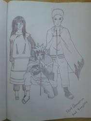 Boruto, Hinata, Naruto by Amil-98-Shahoriar
