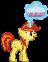 Bright Ember brings the Cake by Yanoda