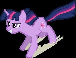 Twilight enjoying the Anti-Gravity Spell. by Yanoda