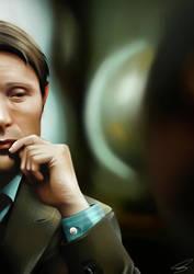Dr. Hannibal Lecter by Fins-Wonderland