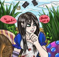 Bloody Cat by Asvoria21