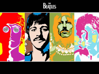 Beatles Wallpaper by rmpugliese