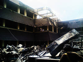Labschool Wreckage by XaliberDeathlock