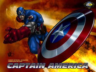 Captain America Ultimate by CarbertArtwork