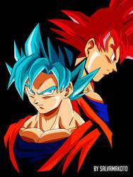 Goku fases Dios by salvamakoto