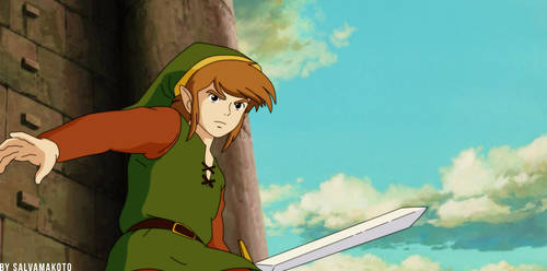 Adventure of Link by salvamakoto