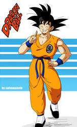 Teen Goku - DB by salvamakoto