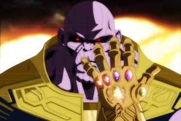 Thanos by salvamakoto
