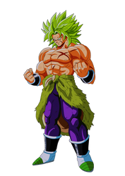 BROLY by salvamakoto