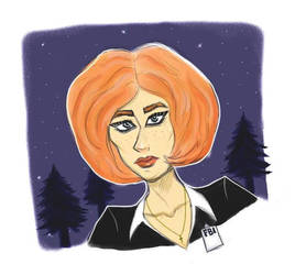 Scully by Elixa29