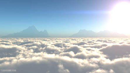 Above the Clouds by bluesixtynine