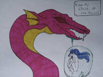 birth of the poison demon by whitelion54