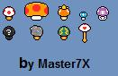 Custom Mushrooms by Master7X