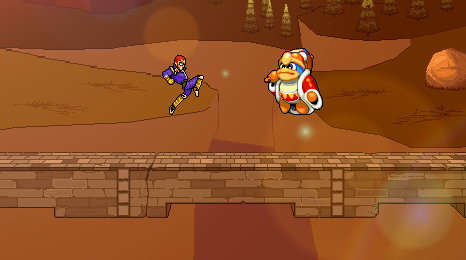 Captain Falcon vs King Dedede by Master7X
