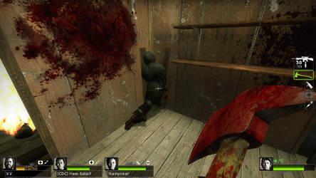 Silly Dead Hunter in L4D2 by Desu-Desu-Des