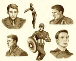 Captain America by ShadowSeason