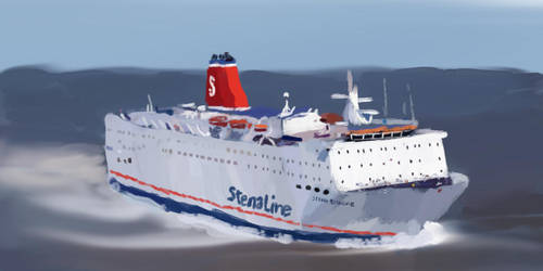 Stena Europe by ChristopherBoland
