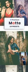 10 Fashion Matte Lightroom Presets by zakaria1854