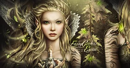 Fairy Godess by Drezzwanu