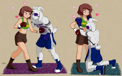 You Are a Great Partner - Chara vs Asriel (d4e) by AHA010