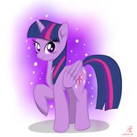 Twilight Sparkle 1 by Truffle-Shine
