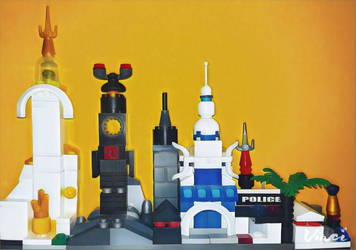 Lan Sai - City Skyline by MikiUniv