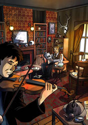 Sherlock And Watson by fotis-sora