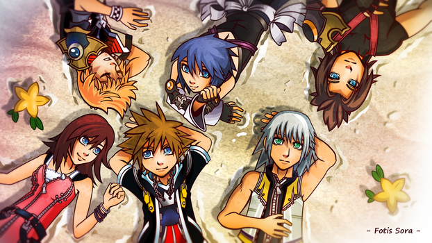 Kingdom Hearts - Destiny Islands by fotis-sora