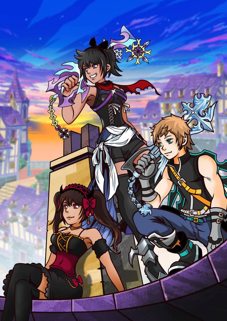Kingdom Hearts union X by fotis-sora