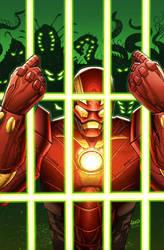 Iron Man 9 cover by GURU-eFX