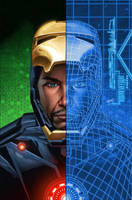 Marvel Now Iron Man 9 cover by GURU-eFX