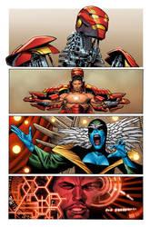 Marvel Now Iron Man 8 pg8 by GURU-eFX