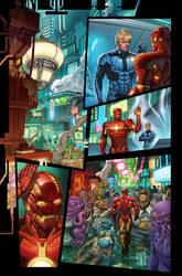 Marvel Now Iron Man 9 pg1 by GURU-eFX
